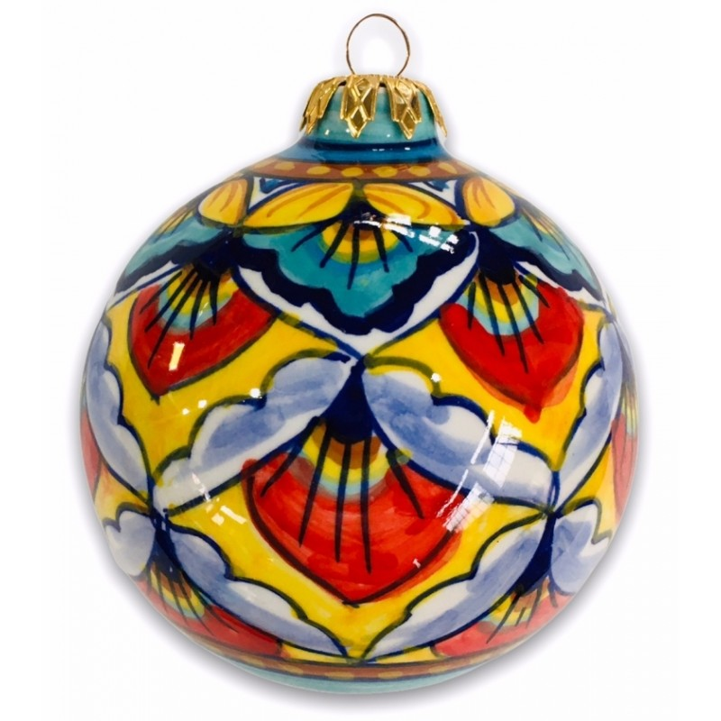 OR-03 ORNAMENTS - YELLOW-RED