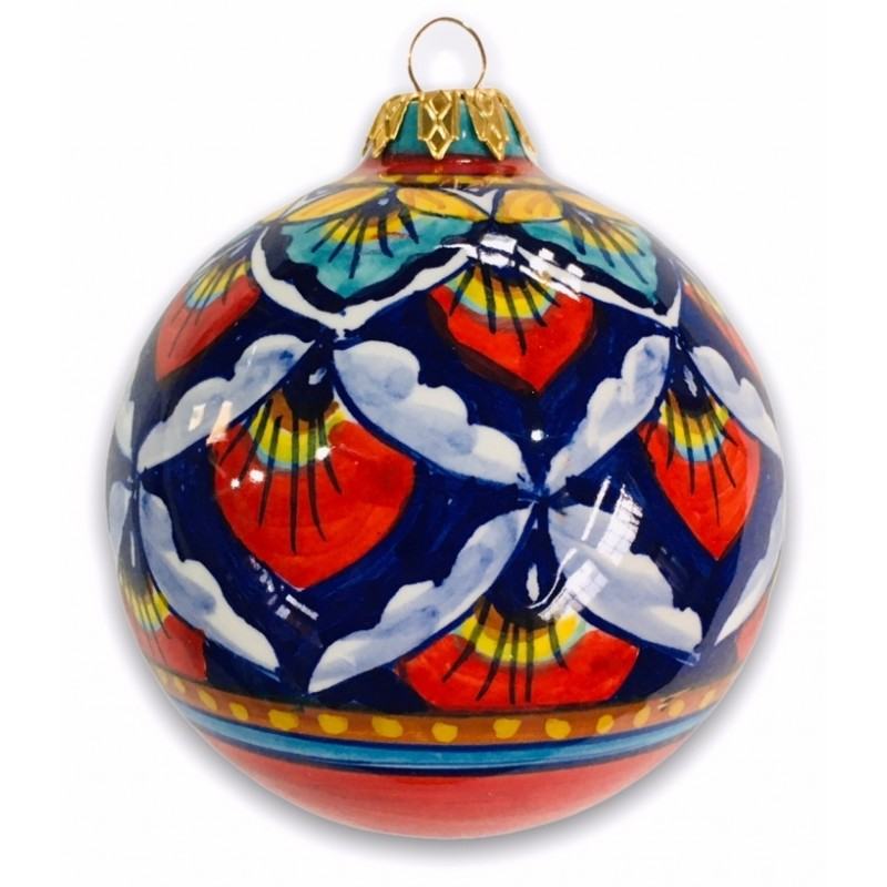 OR-06 ORNAMENTS - RED-BLUE