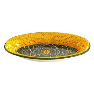 DEB-45 Deep Large Oval Tray