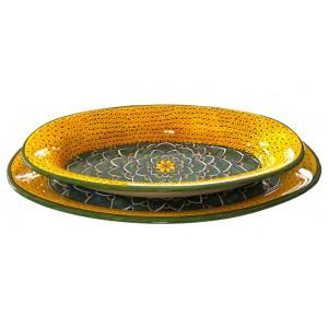 DEB-Set 2 Large Oval Tray