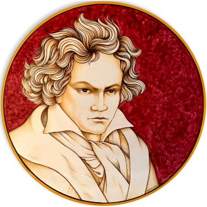 """BEETHOVEN- Wall Plate 50cm - 19.5"""""""