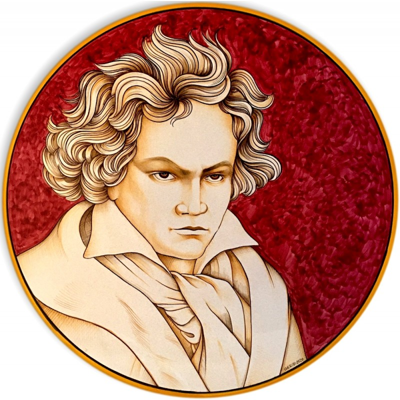 BEETHOVEN- Wall Plate 50cm - 19.5""