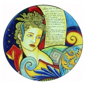 Cleopatra 2007 - Wall Plate 50cm