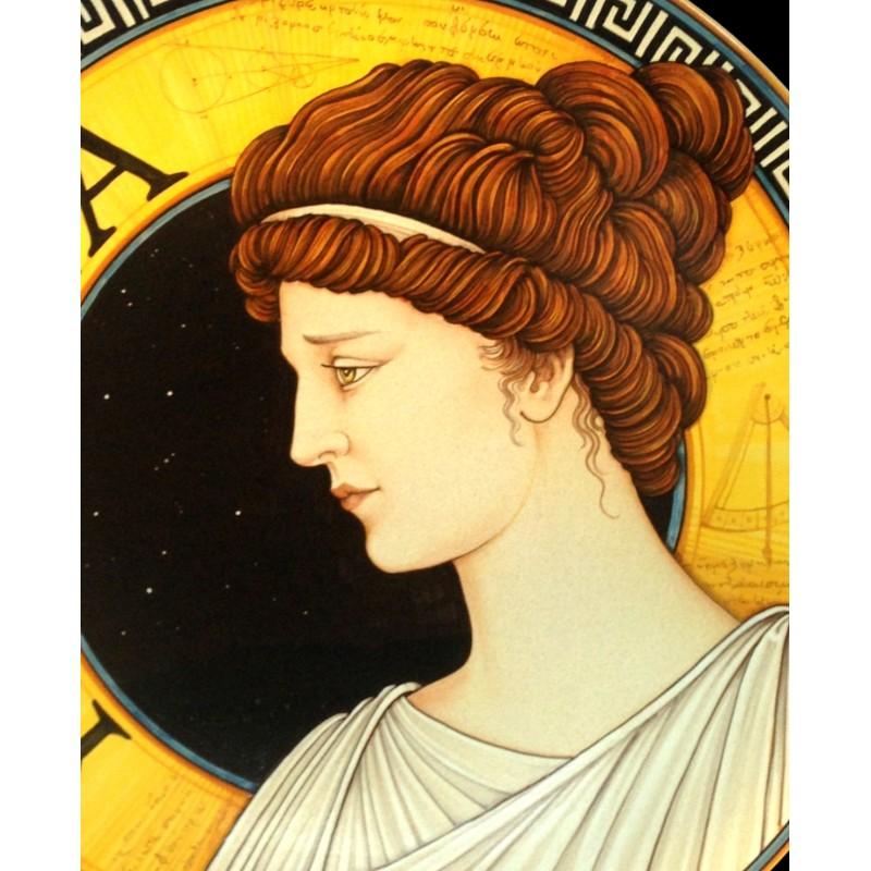 "HYPATIA- Wall Plate 50cm - 19.5"""