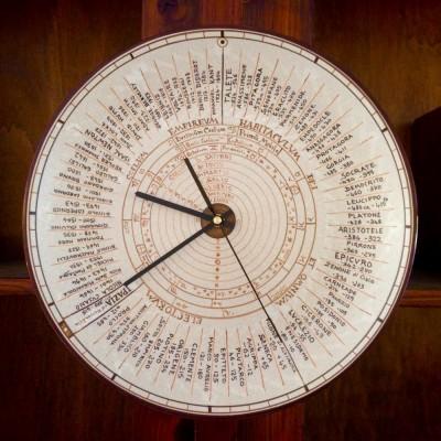 """P02-PHILOSOPHARIUM WALL CLOCK - 13,5"""""""