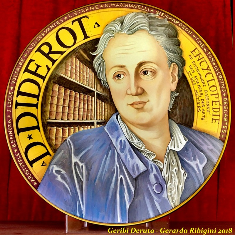 """DIDEROT- Wall Plate 50cm - 19.5"""""""
