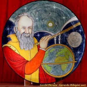"Galileo Galilei- Wall Plate 50cm - 19.5"""