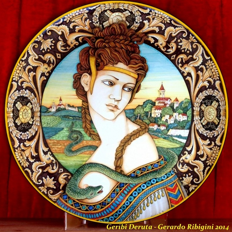 Cleopatra 2005 - Wall Plate 50cm