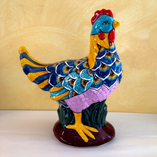 "RST03 Rooster 10"" x 12,5"""